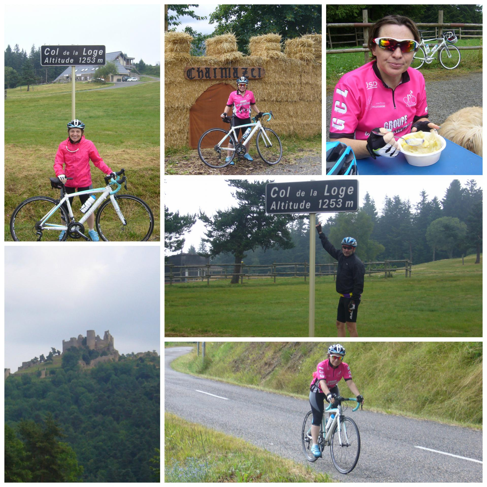 Col de la loge collage